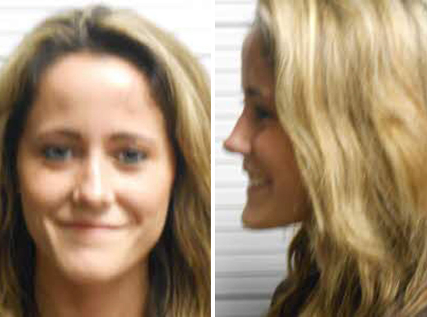 "Jenelle Evans Smiles in New Mug Shot After ""Running Late"" to Court (PHOTOS)"