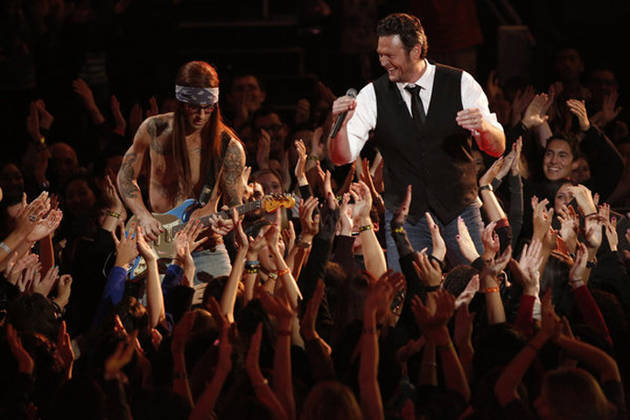 Blake Shelton, Adam Levine, and The Voice Receive 2013 Teen Choice Award Nominations