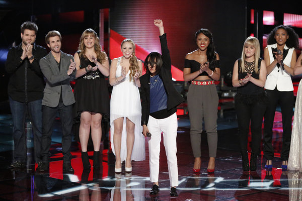 Who Got Voted Off The Voice 2013 on May 28, 2013?