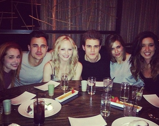 "Vampire Diaries' Candice Accola and Boyfriend Record ""Graduation"" Song"