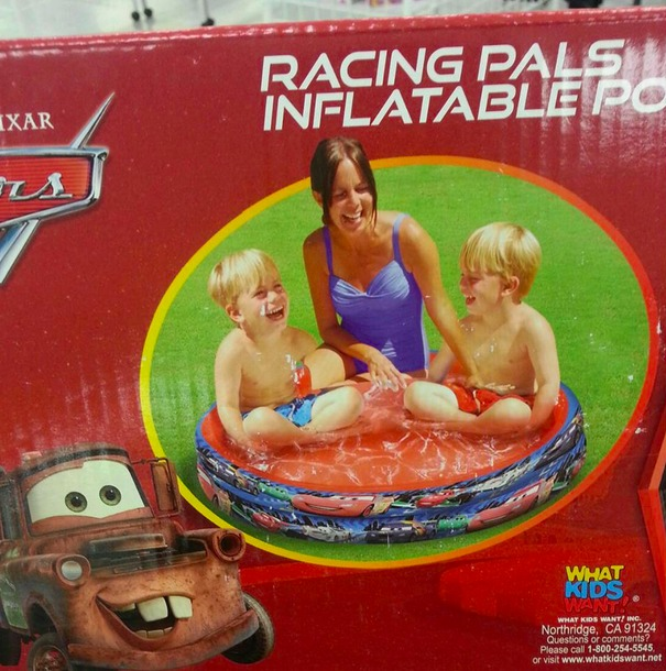 Oops! Kiddie Pool Photoshop Fail Makes Us Uncomfortable (PHOTO)
