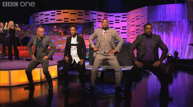'90s Nostalgia Alert: Mini Fresh Prince of Bel-Air Reunion on Graham Norton