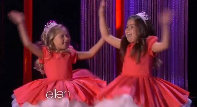 sophia grace and rosie meet beyonce contest