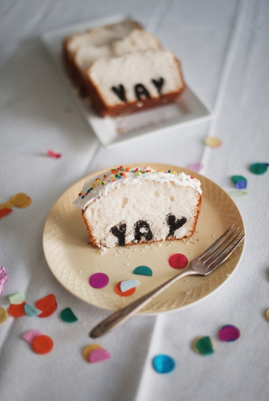 This Typography Cake Will Be the Talk of the Party, Guaranteed!