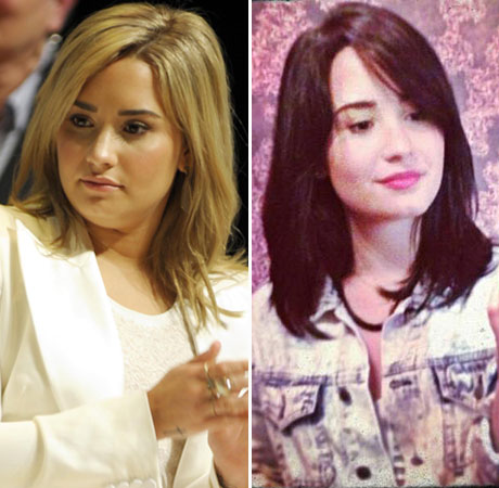 "Demi Lovato On Her Makeover: ""I'm Bipolar — I Change My Hair A Lot!"""