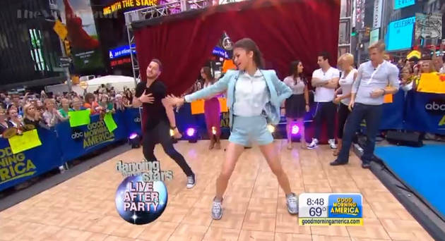 Dancing With the Stars 2013 Final Four Dance One Last Time on Good Morning America (VIDEO)