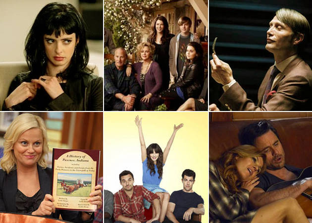 Which Network TV Series Features the Best Writing?