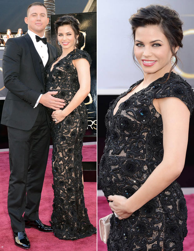 "Pregnant Jenna Dewan-Tatum Gets ""Acupuncture For the First Time!"" (PHOTO)"