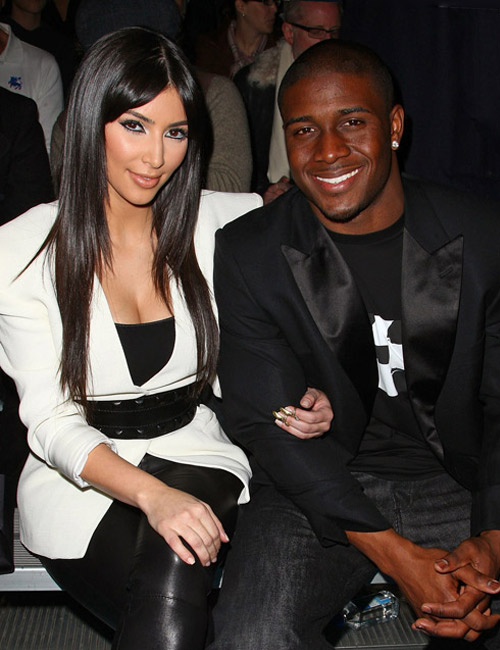 Pregnant Kim Kardashian's Ex Reggie Bush to Congratulate Her on Baby?