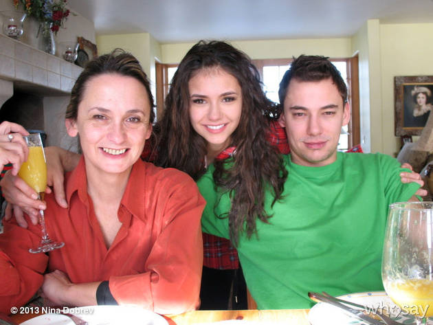 Nina Dobrev Visits Her Family in the Midst of Breakup Rumors (PHOTO)