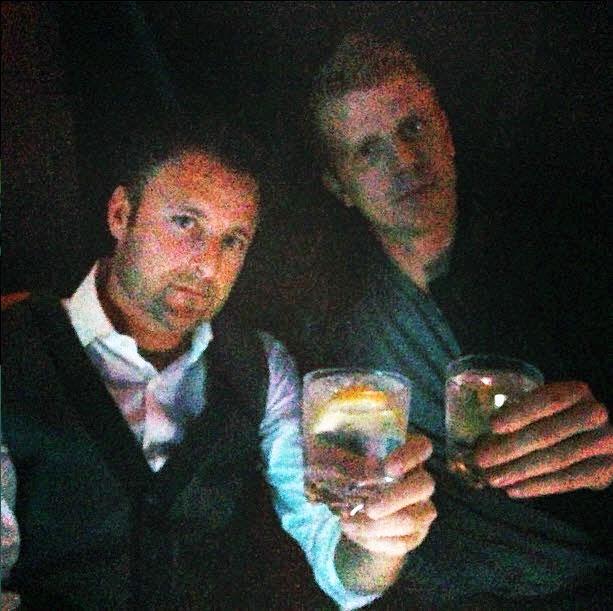 Sean Lowe and Chris Harrison Drink to Desiree Hartsock!