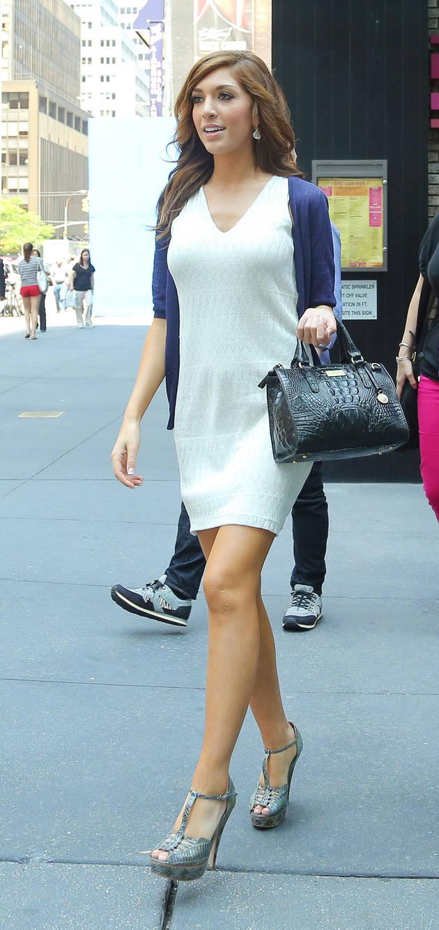 Farrah Abraham Gets the Star Treatment in New York City (PHOTOS)