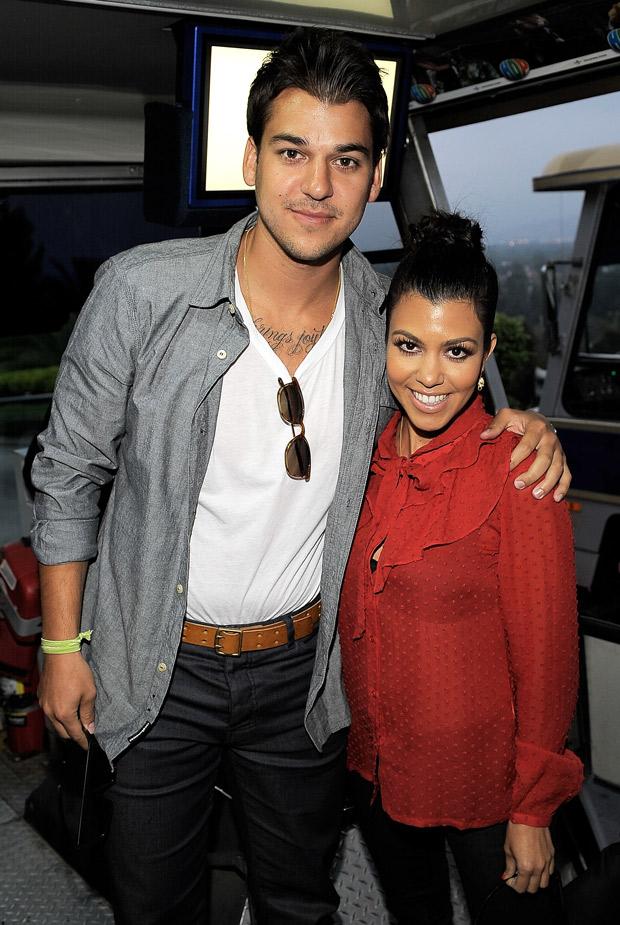 "Rob Kardashian Defends Kim Kardashian's Baby Name, North West: ""It Sounds Cool!"""
