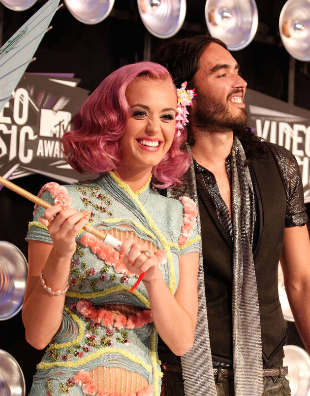 Russell Brand Texted Katy Perry to Say He Wanted a Divorce