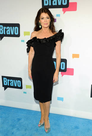 Lisa Vanderpump Dines With New Housewife Carlton Gebbia, Jokes About Oral Sex
