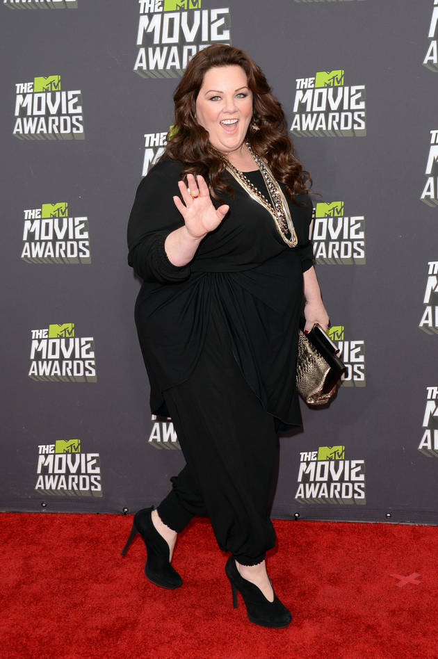 "Melissa McCarthy Responds to the Film Critic Who Called Her ""Tractor-Sized"""