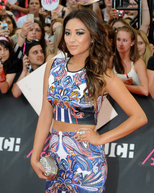 Pretty Little Liars' Shay Mitchell Wrestles an Alligator — In a Bikini?! (VIDEO)