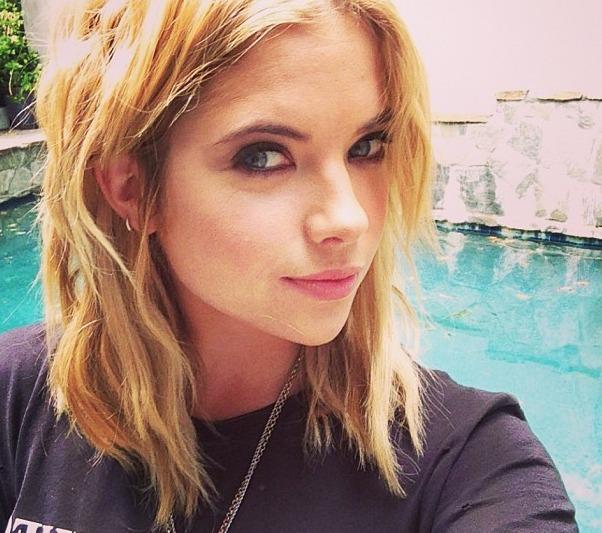 Pretty Little Liars' Ashley Benson Goes Geek Chic in Hollywood (PHOTO)