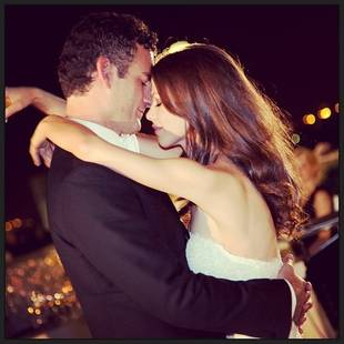 Pretty Little Liars Star Tammin Sursok Posts Stunning Wedding Photo