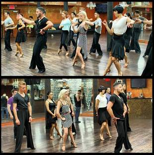 Val Chmerkovskiy Shows Dance With Me Staff How It's Done (PHOTO)