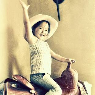 Katherine Heigl's Daughter Naleigh Is the Cutest Cowgirl Ever! (PHOTO)