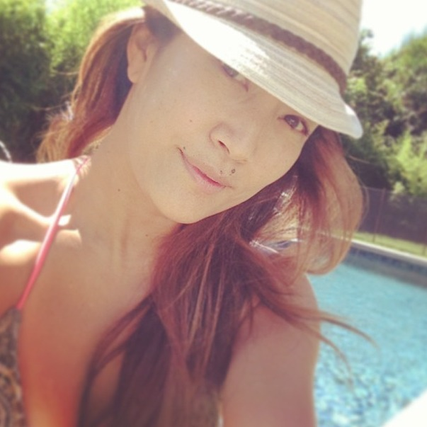 Carrie Ann Inaba Flaunts Bikini Bod: Dancing With the Stars Host Hits the Pool (PHOTO)