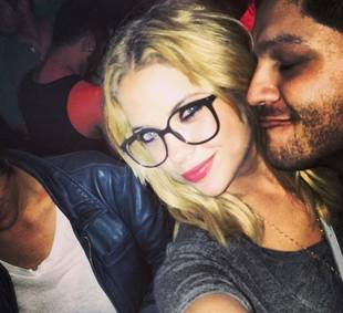 Pretty Little Liars' Ashley Benson Goes Geek Chic in Hollywood (PHOTO)
