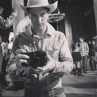Pretty Little Liars Season 4: Why Is Keegan Allen Dressed as a Cowboy? (PHOTO)