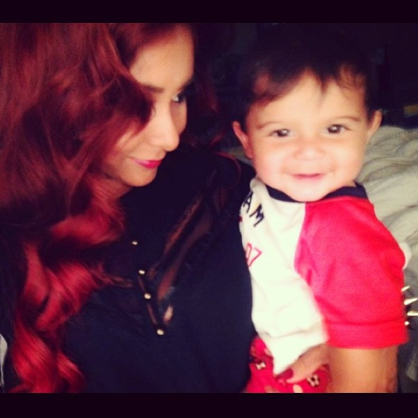 "Snooki: Baby Lorenzo Is ""My Stud For Life"" (PHOTO)"