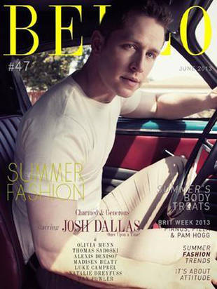Once Upon a Time's Josh Dallas Covers Bello Magazine: Hottie Alert! (PHOTO)