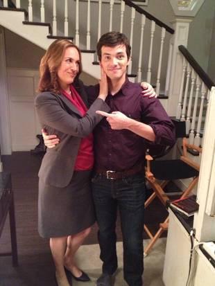 Pretty Little Liars Season 4: Ezra and Mrs. Hastings Together (PHOTO)