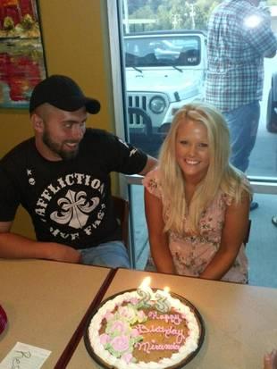 Corey Simms Celebrates Wife Miranda Patterson's Birthday!