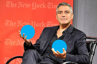 "Hollywood Trend ""Ball Ironing"" Is What it Sounds Like, and George Clooney Does It"