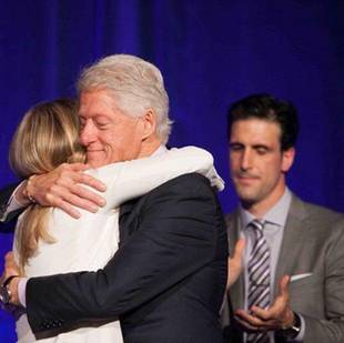 'Father of the Year' Winner Bill Clinton Shares Chelsea's Birth Story