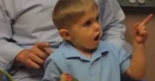 Deaf Boy Hears Sound For The First Time and It's Pretty Amazing (VIDEO)