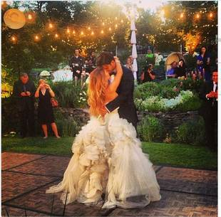 Denver Broncos Wide Receiver Eric Decker Marries Singer Jessie James