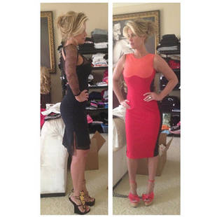 Kim Zolciak Models New Dresses: Where Is Her Baby Bump? (PHOTOS)
