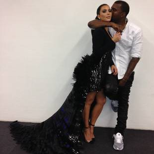 Kanye West and Kim Kardashian Had a Baby! Is An Engagement Next?