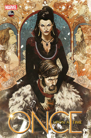 Once Upon a Time Graphic Novel: First Look at the Huntsman and the Evil Queen!