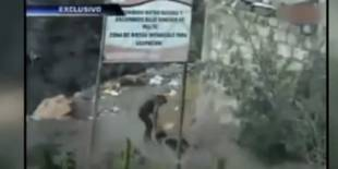 Wife Catches Husband With Another Woman and Throws Her Into a Ravine (VIDEO)