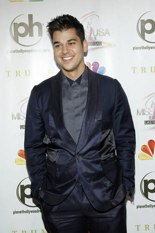 Rob Kardashian Cries About His Weight Gain Every Day!