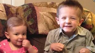 Brave 3-Year-Old Volunteers as Bone Marrow Donor For His Sick Sister (VIDEO)