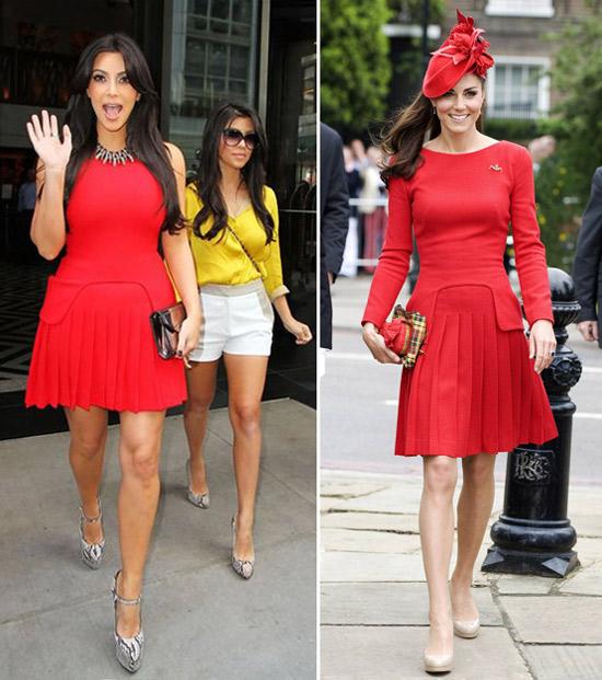 Kim Kardashian Or Kate Middleton: Who Will Give Birth First?
