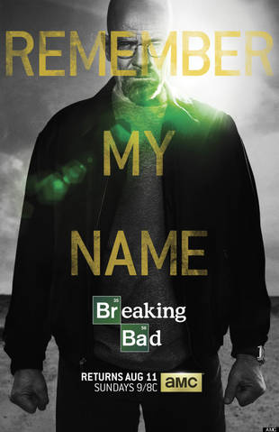 Breaking Bad Season 5: Walter White Gets Cocky in New Poster (PHOTO)