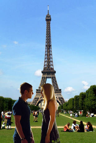 Where in the World Are Rebekah and Matt This Week? Paris!