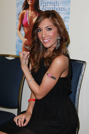 Farrah Abraham Wants a Tattoo — Should She Get One?