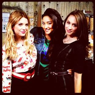 Pretty Little Liars' Shay Mitchell and Troian Bellisario Have Late Night Dance Party! (VIDEO)