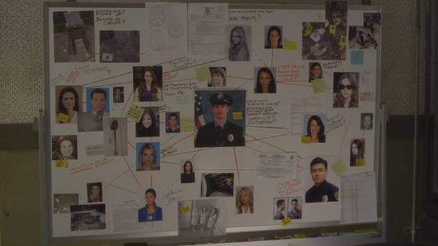 Pretty Little Liars Season 4: Analyzing Holbrook's Police Board