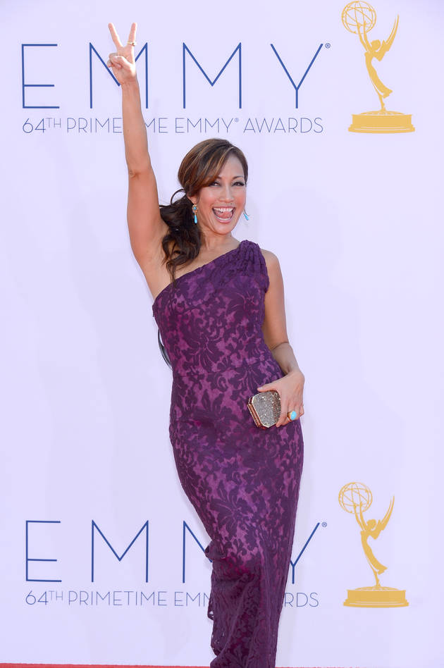 Dancing With the Stars' Carrie Ann Inaba Cozies Up to Channing Tatum! (PHOTO)