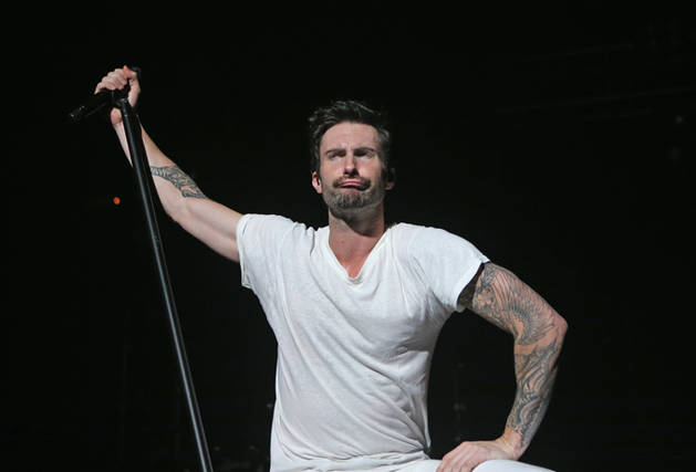 Adam Levine's Fragrance Ad Features Motorcycles and Bondage (VIDEO)